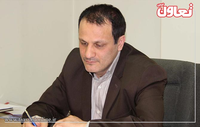 علی رضا ناطقی مدیرکل تعاونیهای خدماتی وزارت تعاون، کار و رفاه اجتماعي