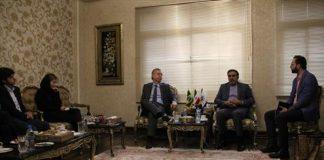 رییس اتاق تعاون با سفیر برزیل دیدار کرد